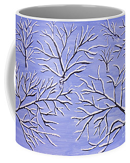 Winter Branches, Painting Coffee Mug