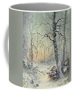 Winter Breakfast Coffee Mug