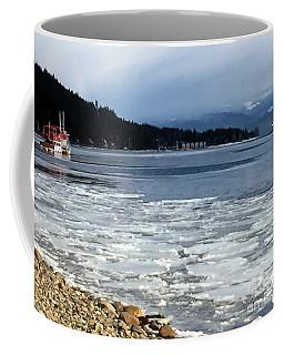 Cottage Life In Winter Coffee Mug