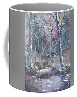 Winter Cardinals Coffee Mug