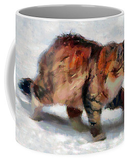 Winter Cat Coffee Mug