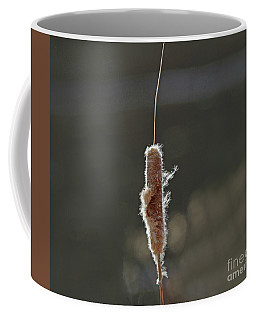 Winter Cattail  Coffee Mug
