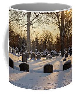 Winter Cemetery  Coffee Mug