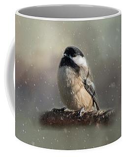 Winter Chicadee Coffee Mug