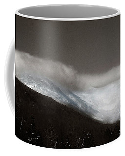 Coffee Mug featuring the photograph Winter Clouds Over Cannon by Wayne King