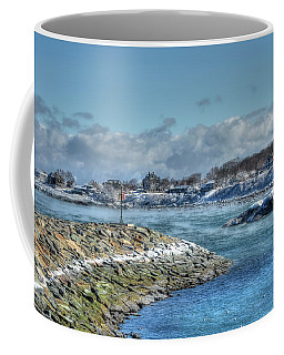 Winter Coastline - Rockport Ma Coffee Mug by Joann Vitali