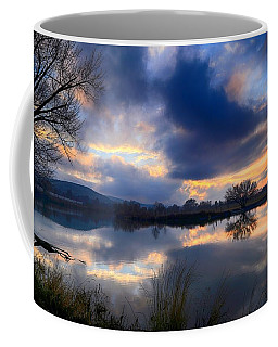 Winter Colors At Sunset Coffee Mug
