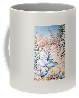 Winter Creek 1  Coffee Mug by Inese Poga