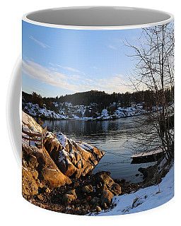 Winter Day By The Oslo Fjords, Norway.  Coffee Mug