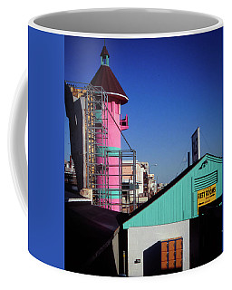 Coffee Mug featuring the photograph Winter Day - Old Orchard Beach, Maine by Samuel M Purvis III