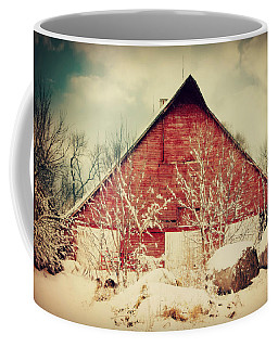 Winter Day On The Farm Coffee Mug