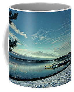Winter Dock Coffee Mug