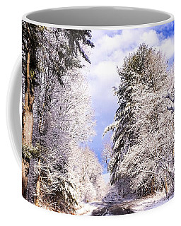Winter Drive Coffee Mug