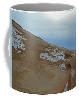 Coffee Mug featuring the photograph Winter Dune by SimplyCMB