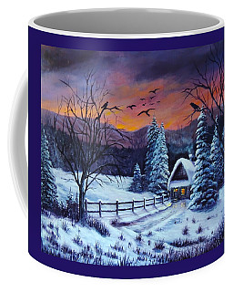 Winter Evening 2 Coffee Mug