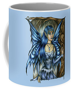Winter Fairy Drawing Coffee Mug