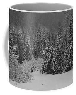 Winter Fairy Tale Coffee Mug by Yulia Kazansky