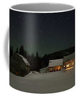 Winter Farmhouse Coffee Mug
