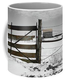 Winter Fence Farm Coffee Mug