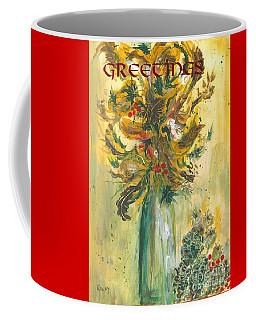 Winter Flowers 2 Coffee Mug
