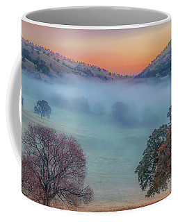 Winter Fog At Sunrise Coffee Mug
