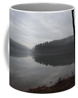 Coffee Mug featuring the photograph Winter Fog by Donald C Morgan