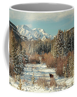 Wyoming Winter Coffee Mug