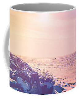 Coffee Mug featuring the photograph Winter Fun by Joel Witmeyer