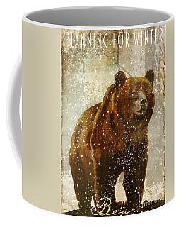 Winter Game Bear Coffee Mug