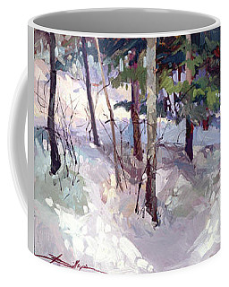 Winter Garden Plein Air Coffee Mug
