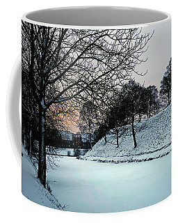 Coffee Mug featuring the photograph Winter Glow - 365-286 by Inge Riis McDonald