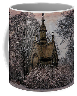 Coffee Mug featuring the digital art Winter Gothik by Chris Lord