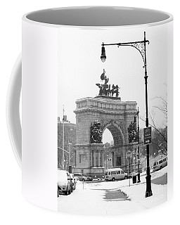 Winter Grand Army Plaza Coffee Mug