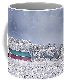 Winter Grey County Coffee Mug