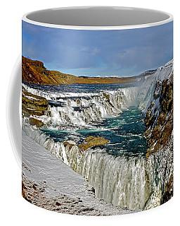 Winter Gullfoss Coffee Mug