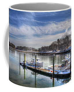 Coffee Mug featuring the photograph Winter Harmony by Adrian LaRoque