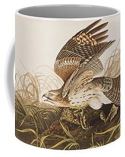 Winter Hawk Coffee Mug
