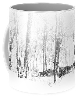 Snowy Forest - North Carolina Coffee Mug
