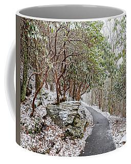Winter Hiking Trail Coffee Mug