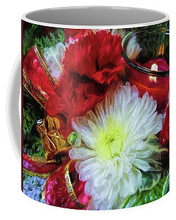 Coffee Mug featuring the photograph Winter Holiday  by Peggy Hughes
