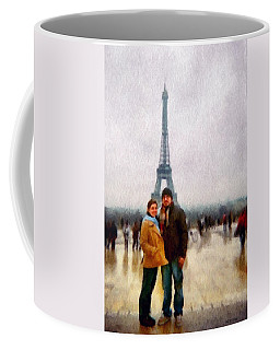 Winter Honeymoon In Paris Coffee Mug