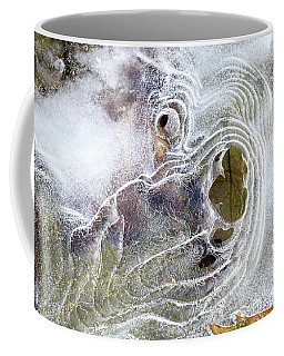 Coffee Mug featuring the photograph Winter Ice by Christina Rollo