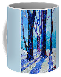 Winter Impression Coffee Mug by Ana Maria Edulescu