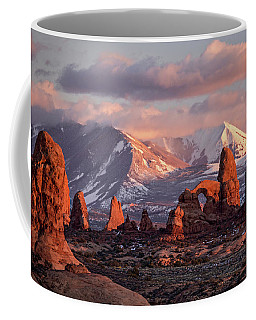 Winter In Arches Np Coffee Mug