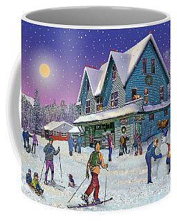Winter In Campton Village Coffee Mug
