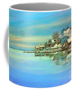 winter in Chester ,Nova Scotia  Coffee Mug
