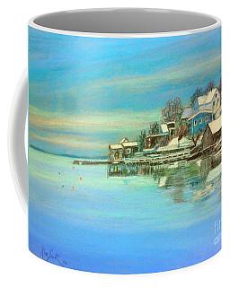 winter in Chester ,Nova Scotia  Coffee Mug by Rae  Smith PAC