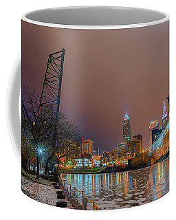 Winter In Cleveland, Ohio  Coffee Mug