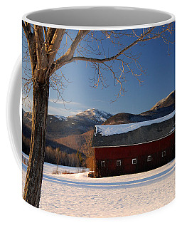 Coffee Mug featuring the photograph Winter In New England by Alana Ranney