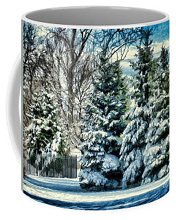 Winter In New England Coffee Mug